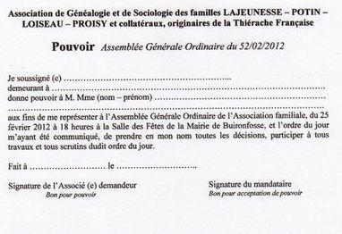 Assemblée Générale Ordinaire à 18 heures - Généalogie ... | Généalogie et histoire, Picardie, Nord-Pas de Calais, Cantal | Scoop.it