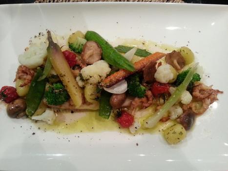 Gebakken zeetong met verse, knapperige groenten | Lekker Tafelen | Lekker Tafelen | Scoop.it