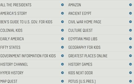 Social Studies Sites − Best Education Sites | Educational instruction | Scoop.it