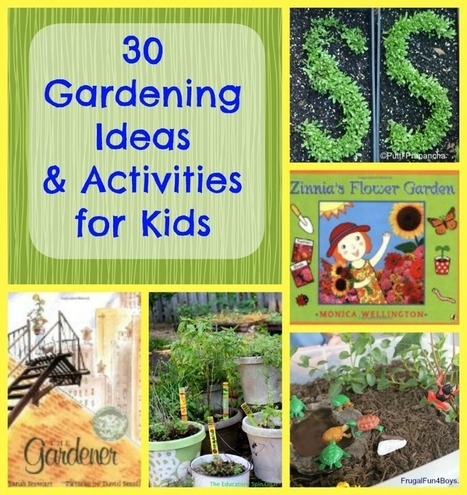 Gardening with Kids | Food and Fibre Production in Australia | Scoop.it