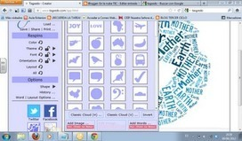 En la nube TIC: Nubes interactivas con Tagxedo   Searching & sharing   Scoop.it