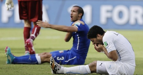 Brands Sink Their Teeth Into Suarez World Cup Controversy | onlinecomm | Scoop.it