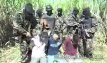 Mexican Drug Cartel Execution – Penis and Balls Cut Off