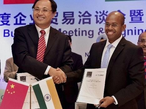 India, China biz delegates sign deals worth $3.4 bn | India Biotech & Pharma | Scoop.it