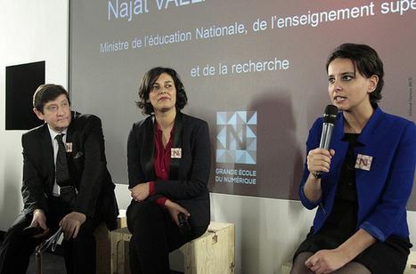 [Regard] Interview : Myriam El Khomri fait le point sur la Grande École du Numérique   Veille digitale   Scoop.it