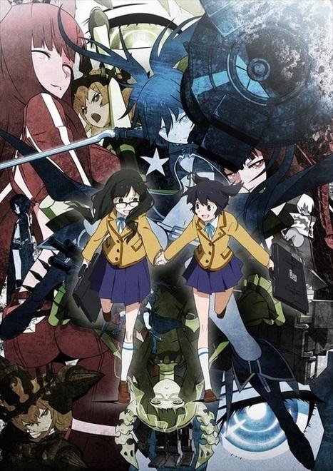 El Anime Black Rock Shooter estará  subtitulado en ocho idiomas | programacion | Scoop.it