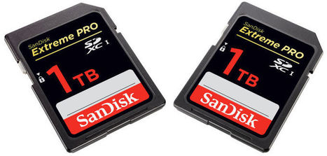 SanDisk unveils the biggest SD card in the world | Android Hacking | Scoop.it