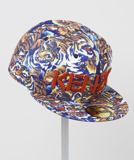 KENZO x New Era – Fall/Winter 2013 Cap Collection | Caps Hats - popsnapback.com | Scoop.it