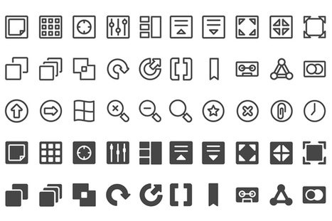 Freebie: UI Interface Icon Set (100 Icons, PNG & SVG) | Veille perso | Scoop.it
