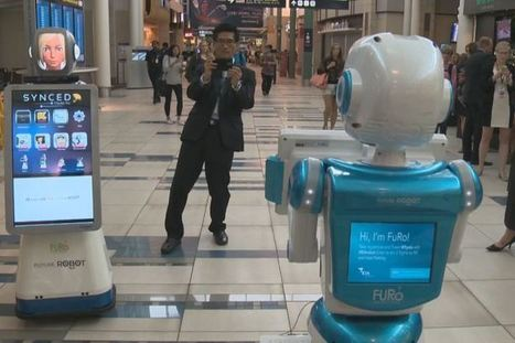 Edmonton airport testing out customer service robots | Talking things | Scoop.it