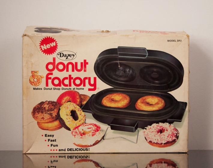 Donut Factory Electric Donut Maker | Kitsch | Scoop.it