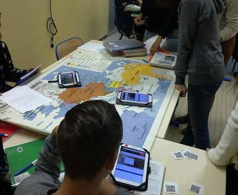 Utiliser les Qr codes et la réalité augmentée en classe : un exemple d'activité | Enseigner et Apprendre | Scoop.it