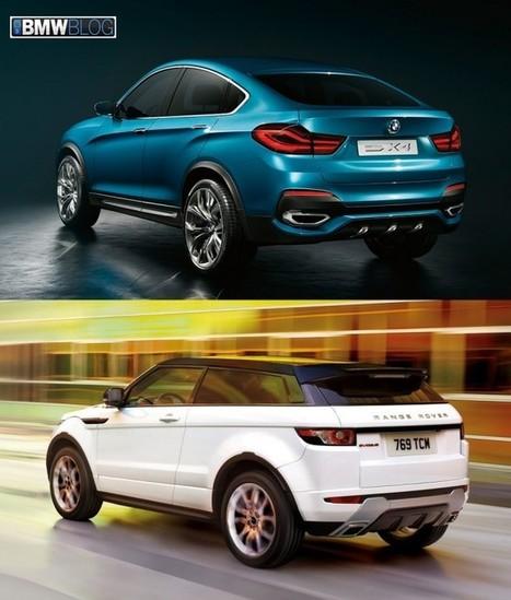 BMW X4 vs Range Rover Evoque - Photo Comparison - BMW BLOG   RR Evoque   Scoop.it