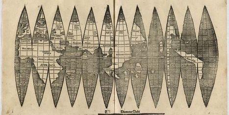 Un exemplaire de la première carte de l'Amérique retrouvé à Munich   GenealoNet   Scoop.it