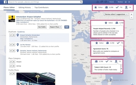 Facebook Revamps Places Editor | Social Networker | Scoop.it