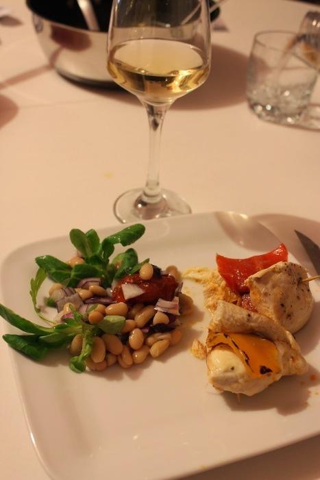 Recettes Faciles & Rapides: Blancs de poulet farcis & salade de haricots blancs   Recettes faciles   Scoop.it