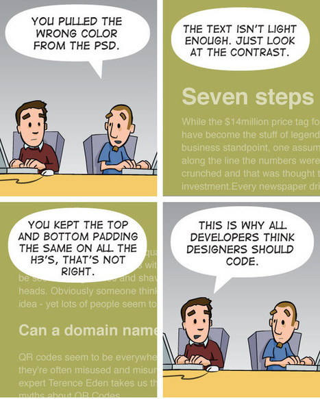 The .net strip #33: Why designers should learn to code | Feature | .net magazine | Digital-News on Scoop.it today | Scoop.it