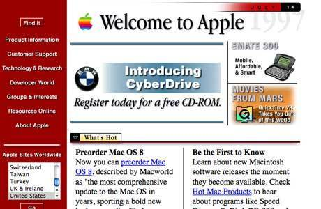 How 20 popular websites looked when they launched - Telegraph | Vibe - bringing life to brands | Scoop.it