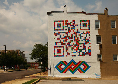 Street Art Digital by Josh Van Horne | QRiousCODE | Scoop.it