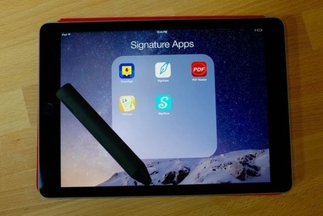 5 apps for signing documents with your iPhone and iPad - MacWorld | iPads edu | Scoop.it