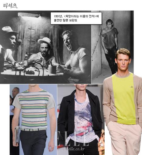 '티셔츠'는 원래 속옷이었다_Search The Style, ELLE Korea | 02--young | Scoop.it