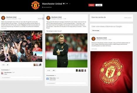 Manchester United developpe sa présence sur les réseaux sociaux - SportBusinessetMoi   Le Sport Digital   Scoop.it