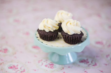 Mini cupcakes choco-passion | Dollyjessy | Cupcakes en France | Scoop.it