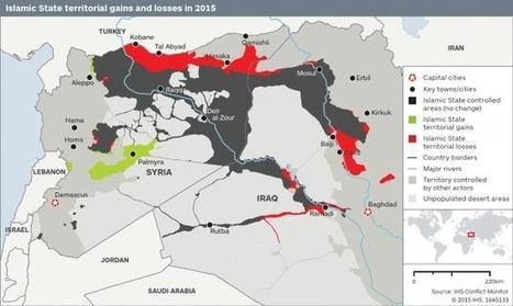 ISIS Lost 14% Of Territory In 2015 | Global politics | Scoop.it