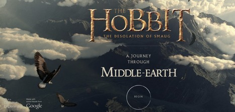 The Hobbit: A Journey Through Middle-Earth | Digital Delights - Avatars, Virtual Worlds, Gamification | Scoop.it