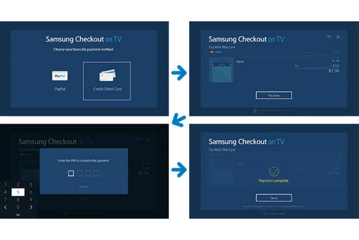 Samsung lance son service de paiement sur ses télévisions [Vidéo] | Digitalisation & Distributeurs | Scoop.it