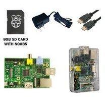 CanaKit Raspberry Pi (512 MB) Complete Starter Kit (Raspberry Pi 512 MB + Clear Case + Micro USB Power Supply + Original Preloaded SD Card + HDMI Cable) | azeddine | Scoop.it