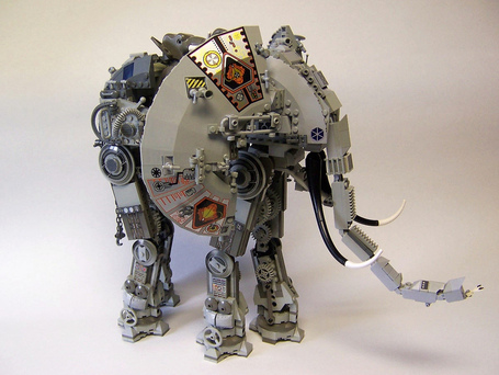 LEGO Robot Elephant! – JK | The Robot Times | Scoop.it