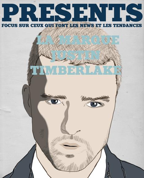 Presents Magazine - Justin Timberlake   Creative Art Moodbook   Scoop.it