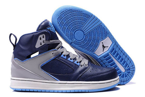 JORDAN SIXTY CLUB Style Shoes: Leather Blue And Grey Colorways | fashion list | Scoop.it