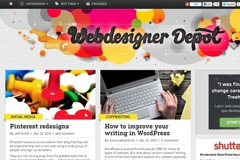 Top 100 Highest Quality Web Design Blogs | Julie Jouault | Scoop.it