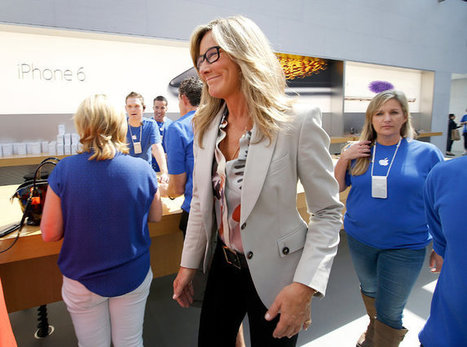 Apple Executive Seeks a Touch of Chic at Retail Stores | Business Industry | Scoop.it