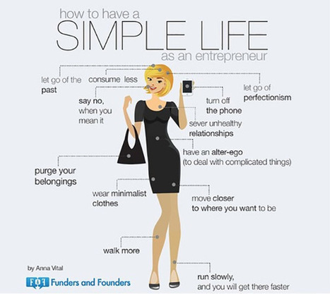 How Keeping Things Simple Makes You A Productive Entrepreneur | Personal & Professional Growth | Scoop.it