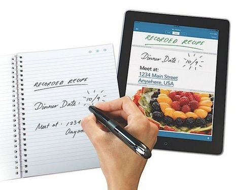 Livescribe 3 sends handwritten notes straight to your iPhone or iPad | Educational Technology - Yeshiva Edition | Scoop.it