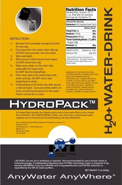 Case Study: HydroPack, Hydration for a World in Need by Farrell Calabrese - Core77 | An odd mix of stuff | Scoop.it