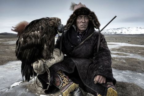 Meet the Mongol hunter who has a pet eagle in amazing Sony World ... - Mirror.co.uk   Photography   Scoop.it
