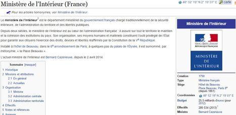 Wikipedia bannit l'adresse IP du Ministère de l'intérieur   Actualité Geek (High-Tech)   Scoop.it