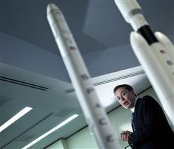 SpaceX chief sets his sights on Mars   Skylarkers   Scoop.it