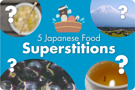 5 Japanese Food Superstitions | Food Travel | Scoop.it