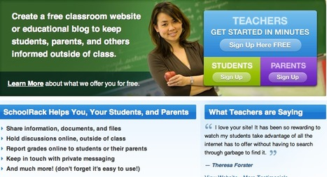 SchoolRack » Create a FREE Teacher Website or Educational Blog! | Technology in teaching English | Scoop.it