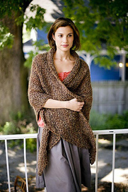 Honest Warmth Shawl pattern by Lion Brand Yarn | Knit-of-the-Month Club | Scoop.it