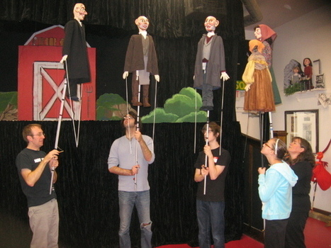 Hanukkah Celebrated By Paul Mesner Puppets - Jewish Community Center | OffStage | Scoop.it