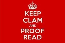 How to Proofread better | 6 tips to proofreading | gtcreate | Corporate Communication & Reputation | Scoop.it
