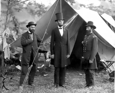 24 Vintage Photographs of Abe Lincoln Being Awesome - Mental Floss | Stuff that Tweaks | Scoop.it