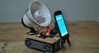 Android controlled robot extravaganza - Hack a Day | Arduino Geeks | Scoop.it