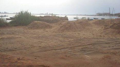 Las máquinas destrozan yacimientos romanos en Cartagena para crear nuevas playas y cultivos | LVDVS CHIRONIS 3.0 | Scoop.it